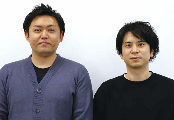 小野将大 株式会社オプトホールディング HRDC室 チームマネージャー(左)、黒沢槙平株式会社オプト HRDC 室長