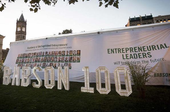 今年創立100周年を迎えたバブソン大学。U.S.News & World Reportの世界ランキングでは、アントレプレナーシップ部門で26年間連続トップを獲得