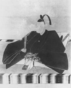 広島藩の第7代藩主、浅野重晟公の肖像画